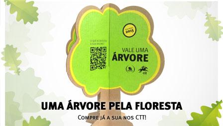 Apadrinhe uma árvore e ajude a reflorestar Portugal
